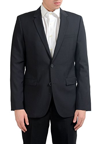 Hugo Boss AerinS Men's 100% Wool Two Button Blazer Sport Coat US 40L IT 50L