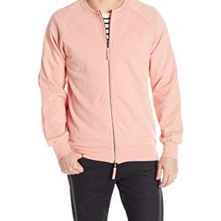 Publish Brand INC. Men's Bayard Suede Jacket, Pink, Large