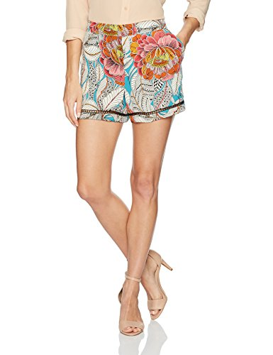 Trina Turk Women's Bubbly via Lola Print Short, Multi, M
