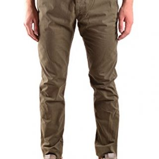 Stone Island Men's Green Cotton Pants