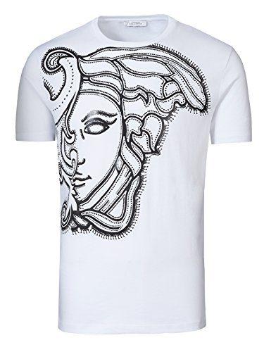 Versace Jeans White Medusa T-Shirt (L)