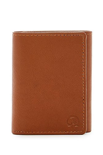 Robert Graham Men's Magada Leather Trifold Wallet (Sand)