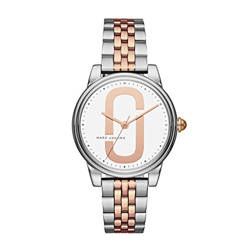 Marc Jacobs Women's 'Corie' Quartz Stainless Steel Casual Watch, Color Silver-Toned