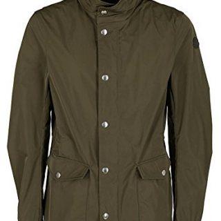 Moncler Men's Green Polyamide Coat
