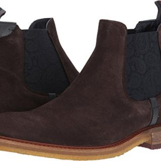 Ted Baker Men's Bronzo Ankle Boot, Brown, 9 M US