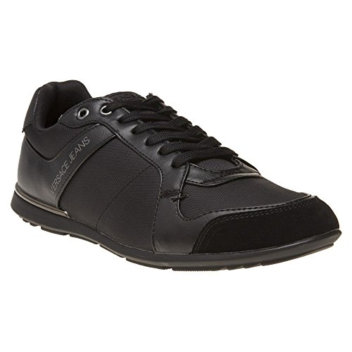 Versace Jeans Nylon Lace Mens Sneakers Black