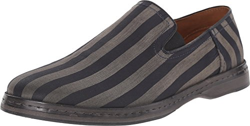 John Varvatos Men's Mykanos Venetian Charcoal Loafer 9.5 D (M)