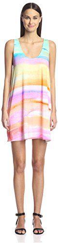 Mara Hoffman Women's Swing Dress, Sky Dye, M