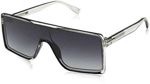 Marc Jacobs Rectangular Sunglasses, Crys Blck, 99 mm