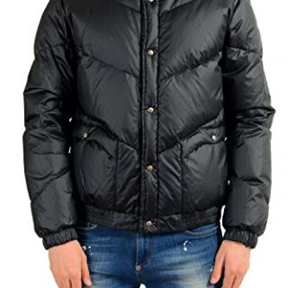 Moncler Men's LINTAN Black Down Parka Jacket Sz 3 US M