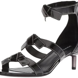 Donald J Pliner Women's Cady Sandal, Black, 6 M US