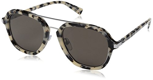 Marc Jacobs Aviator Sunglasses, Havana Beige/Gray Blue, 54 mm