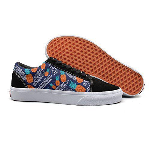 VCERTHDF Colorful Pineapple Summer Fashion Slip-On Shoe Mans
