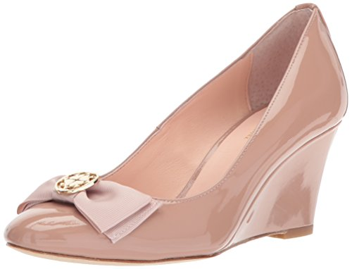 Kate Spade New York Women's Wescott Pump, Fawn Patent, 5 M US