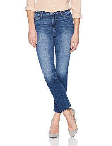 PAIGE Women's Jacqueline Straight Leg Jeans, Malibu, 30