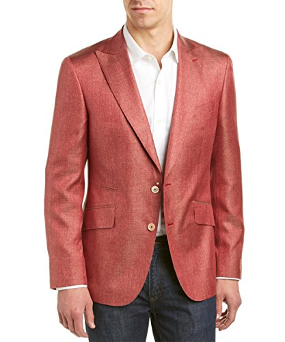 Robert Graham Arlington Silk Jacket Rust 50R