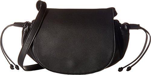 French Connection Women's Dane Shoulder Flap Black Handbag