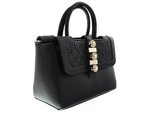 Versace Black Satchel for Womens