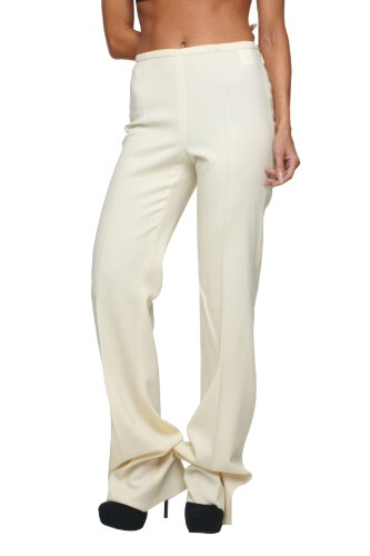 Roberto Cavalli - Women's Pants Slacks Cream, 40, Beige