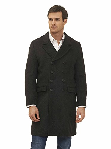 Robert Graham Men's The Family Man, Dark Grey, X-Large