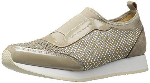 Donald J Pliner Women's Ryleysp-KS Fashion Sneaker, Beige, 9 M US