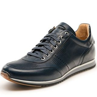Magnanni Pueblo II Navy Men's Fashion Sneakers Size 10 US