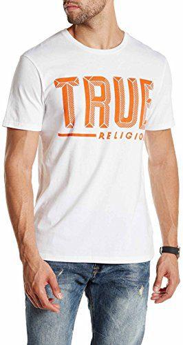 True Religion Crew Neck Tee (L, True White)