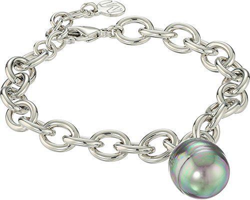 Majorica Modern Metal Silver Bracelet