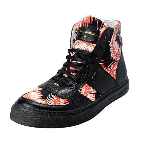 Marc Jacobs Men's Leather Hi Top Fashion Sneakers Shoes US 10 IT 9 EU 43