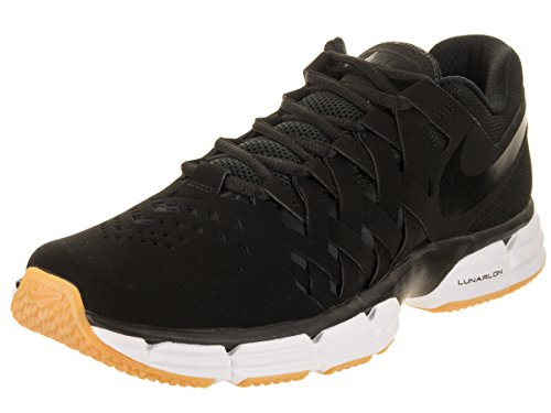 NIKE Men's Lunar Fingertrap Tr Black/Black Training Shoe 12 Men US