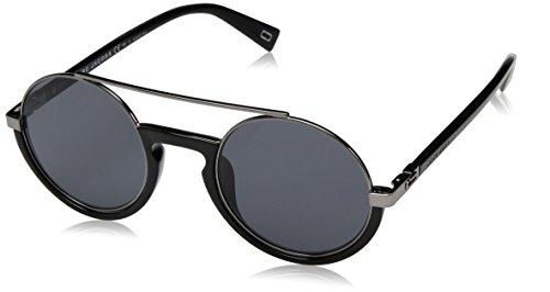 Marc Jacobs Men's Polarized Oval Sunglasses, Black, 50 mm