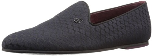 Ted Baker Men's Leisa Tuxedo Loafer, Black Textile, 9 M US