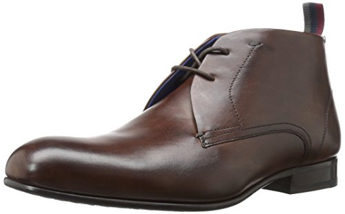 Ted Baker Men's Moyzes Ankle Boot, Brown, 9 M US