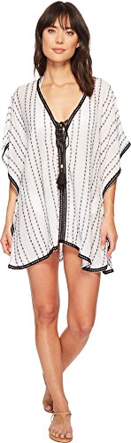 Michael Stars Women's Tahitian Cover-Up Black One Size
