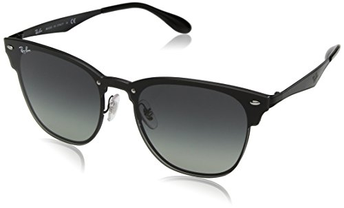 Ray-Ban the Blaze Square Sunglasses, Demi Gloss Black, 47 mm