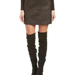 Trina Turk Women's Rico Mini Skirt (Black, 6)