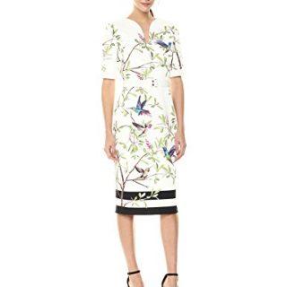 Ted Baker Women's Evrely Dress, White, 4