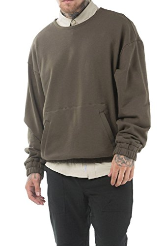 Publish Brand - Men's Rhyss Sweater - Olive - M