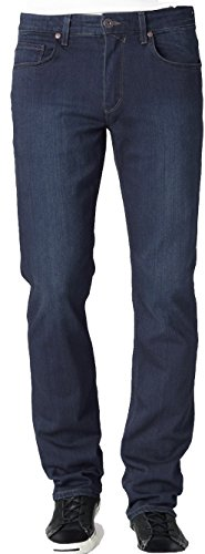 PAIGE Men's Jean Normandie Extra Long Cellar Slim FIT Straight Leg Jeans