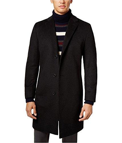 Hugo Boss Mens Stratus Pea Coat Black 42R