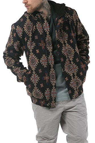 Publish Brand - Men's Majid Hooded Bomber Jacket - Black - M