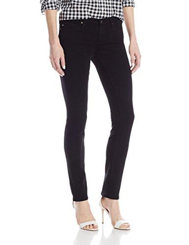 AG Adriano Goldschmied Women's The Stilt Skinny Jean, Super Black, 29