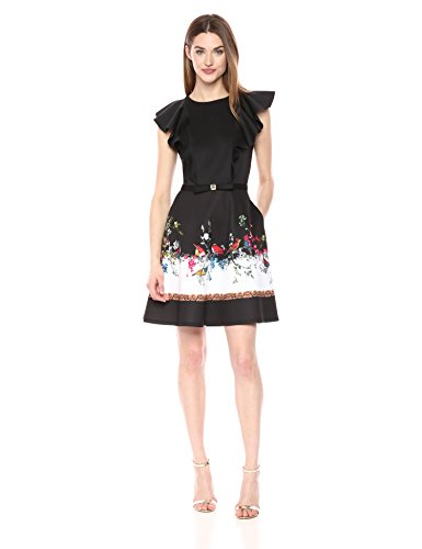 Ted Baker Women's Shaelin Dress, Black, 5