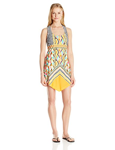 Trina Turk Women's Brasilia Short Dress Cover up, Multi, M