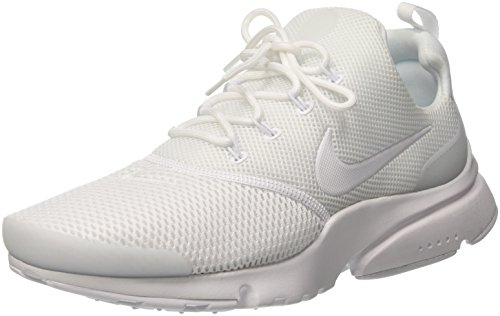NIKE New Mens Presto Fly Running Sneaker (12, White/White)