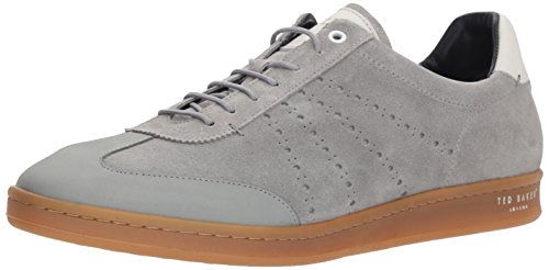 Ted Baker Men's Orlee Sneaker, Light Grey Suede, 12 D(M) US