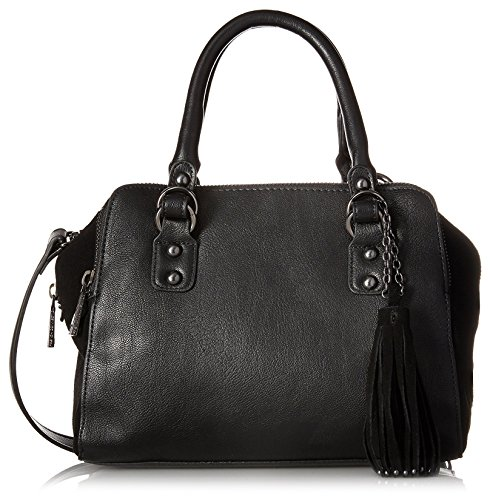 French Connection Women's Jenny Satchel, Black