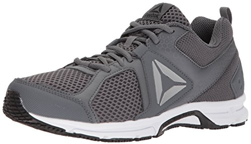 Reebok Men's Runner 2.0 MT Running Shoe, Alloy/Black/ash Grey/White, 12 M US