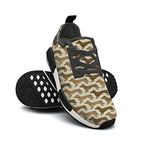 lsawdas Dachshund Dogs Men Running Sneakers Shoes