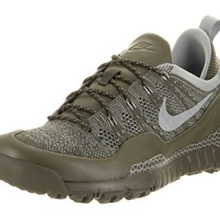 Nike Mens Lupinek Flyknit Low Cargo Khaki/Mica Green Casual Shoe 10 Men US
